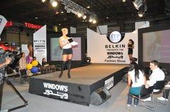 2009 belkin mody gitex przedstawienie okno Fotografia Stock