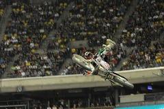 2009 Ben milot supermotocross Fotografia Royalty Free