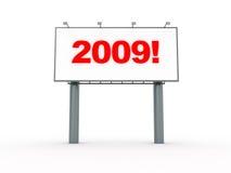 2009 billboard Royalty Free Stock Photography