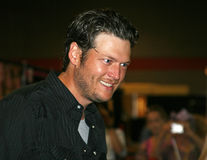 2009 Blake cma festiwalu shelton Fotografia Royalty Free