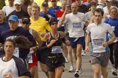 2009 Boston Marathon Stock Images