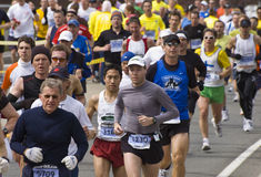 2009 Boston Marathon Stock Photography