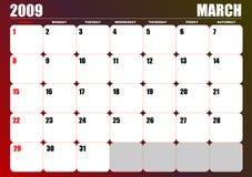 2009 Calendar Stock Photography
