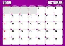 2009 Calendar Stock Photo