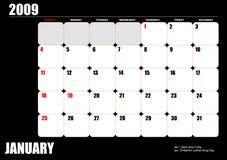 2009 calendar Royalty Free Stock Image