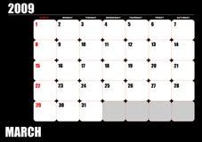 2009 calendar Stock Photos