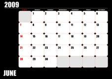 2009 calendar Royalty Free Stock Photography