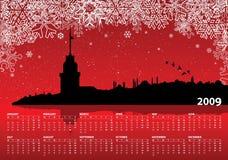 2009 calendar. Vector illustration for 2009 calendar stock illustration