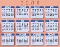 2009 Calendar by Willierossin Stock Photo