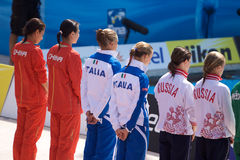 2009 campionati del mondo di FINA Fotografie Stock Libere da Diritti