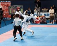 2009 campionati italiani del Taekwondo Fotografia Stock