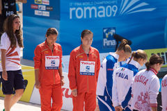 2009 championnats du monde de FINA Photos libres de droits