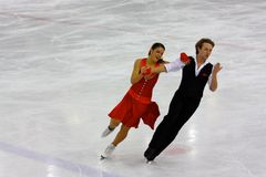 2009 championnats figurent le patinage global italien Photos libres de droits