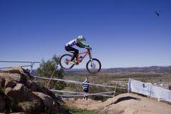 2009 champions du monde de vélos de montagne d'UCI Photographie stock libre de droits