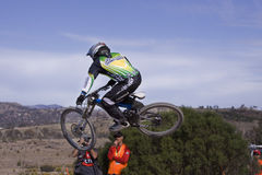 2009 champions du monde de vélos de montagne d'UCI Photo libre de droits
