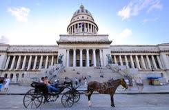 2009 che costruisce capitoly la Cuba Avana novembre Fotografia Stock