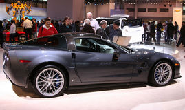 2009年Chevrolet Corvette zr1 免版税库存图片