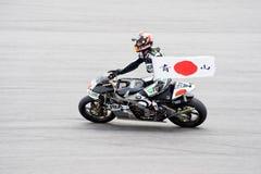 2009 clase de MotoGP 250cc - Hiroshi Aoyama Foto de archivo libre de regalías