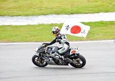 2009 classe de MotoGP 250cc - Hiroshi Aoyama Fotografia de Stock Royalty Free