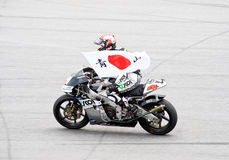 2009 classe de MotoGP 250cc - Hiroshi Aoyama Imagens de Stock Royalty Free