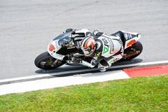 2009 codice categoria di MotoGP 250cc - Hiroshi Aoyama fotografia stock