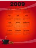 2009 coffee calendar Stock Image