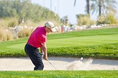 2009 Commercial Bank Qatar Masters tournament royalty free stock image