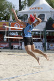 2009 competiam da salva da praia de FIVB CEV Lausana Imagens de Stock