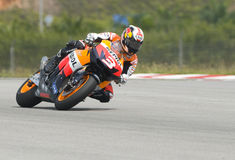 2009 Dani Pedrosa of Repsol Honda Team Royalty Free Stock Photo