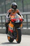 2009 Dani Pedrosa van het Team van Repsol Honda Stock Afbeeldingen