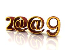 2009 ear signs Royalty Free Stock Photos