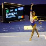 2009 europeiska gymnastiskt för konstnärliga mästerskap Royaltyfri Fotografi