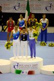 2009 europeiska gymnastiskt för konstnärliga mästerskap Royaltyfri Bild