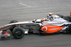 2009 f1 ο Heikki ο αγώνας Στοκ εικόνα με δικαίωμα ελεύθερης χρήσης