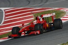 2009 f1 Ferrari kimi raikkonen Obraz Royalty Free