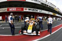 2009 f1 Nelson piquet Renault Στοκ Εικόνα