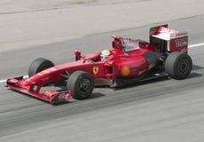 2009 Felipe Massa bij Maleise F1 Grand Prix Royalty-vrije Stock Foto's