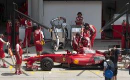 2009 Felipe Massa at Malaysian F1 Grand Prix Stock Photography