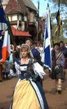 2009 festiwalu renaissance Texas Fotografia Royalty Free