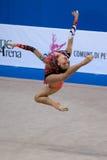 2009 filiżanek figi gimnastycznego pesaro rytmiczny świat Fotografia Stock