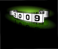 2009- film strip Stock Image