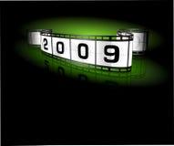 2009- film strip Stock Image