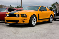 2009 Ford Mustang Boss 302 stock photography