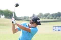 2009 fra法国高尔夫球洛伦佐话筒开放维拉 库存照片