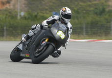 2009 Francês Randy de Puniet de RCL Honda Motogp Imagens de Stock Royalty Free
