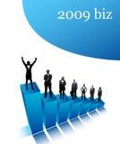 2009 Geschäfte Stockbild