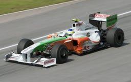 2009 Giancarlo GP Fisichella bij Maleise F1 Royalty-vrije Stock Afbeelding