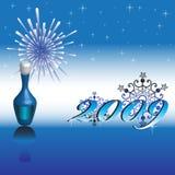 2009 happy new year Στοκ φωτογραφίες με δικαίωμα ελεύθερης χρήσης