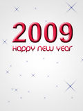 2009 happy new year. Card Royalty Free Stock Photos