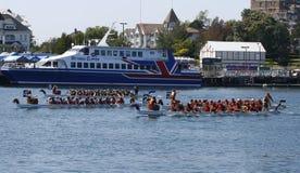 2009 het Festival van de Boot van de Draak van Victoria Royalty-vrije Stock Afbeelding